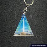 gantungan kunci souvenir objek wisata