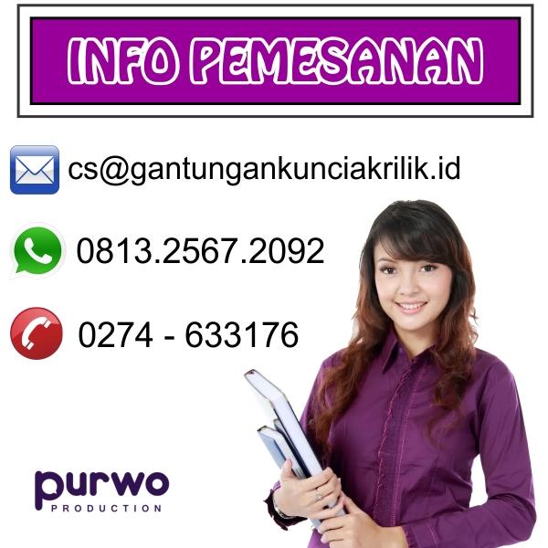 Jual Gantungan Kunci Akrilik Jakarta Selatan