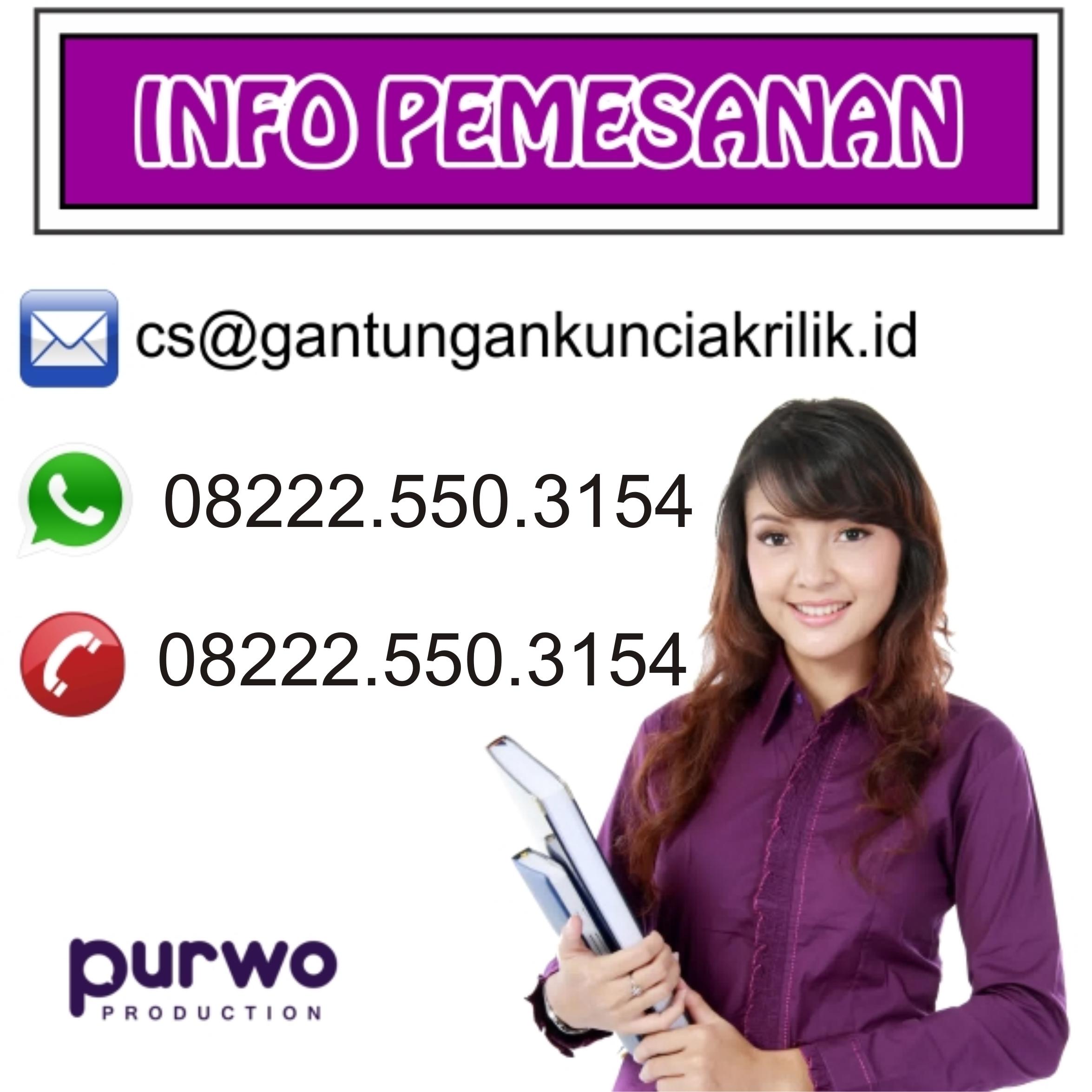Pesan Gantungan Kunci Akrilik Anime Di Jakarta Pusat