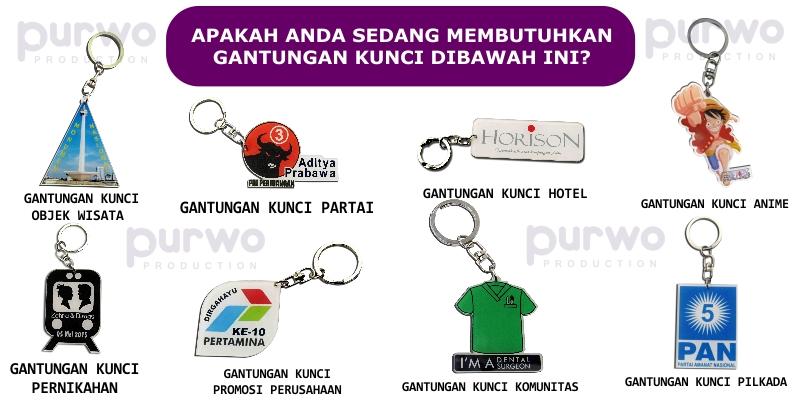Jual Gantungan Kunci Akrilik Di Jakarta